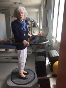 Mercedes Ribera paciente de Corporación Fisiogestión