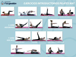 Ejercicios introductorios Pilates