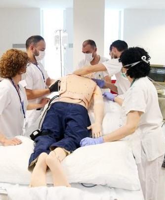 Realización de la postura decúbito prono en enfermos de Covid-19 en UCI